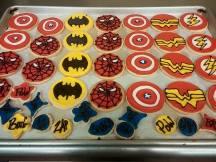 Granite State Lunchbox | superhero cookies