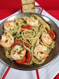 Waterworks Cafe - Shrimp Scampi