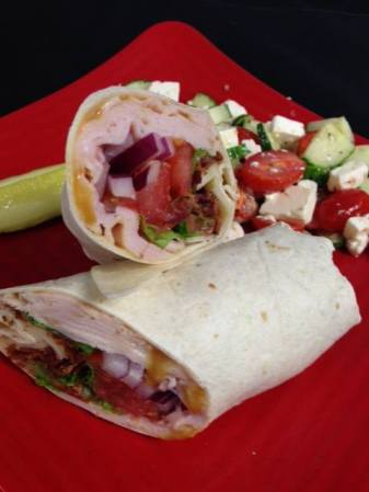 Bayona Cafe | Honey Mustard Turkey Wrap
