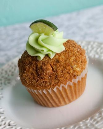 Queen City Cupcakes   key lime cupcake