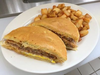 Red Arrow   Chicken-fried steak sandwich