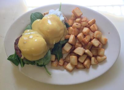 Red Arrow Diner | Eggs Benedict