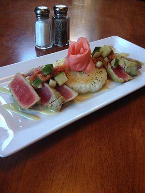 Waterworks Cafe | Wasabi Tuna Steak