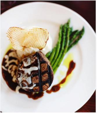 Firefly   steak dinner