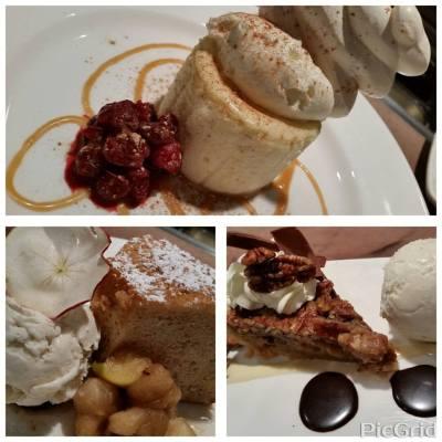 Hanover Street Chophouse | Winter desserts