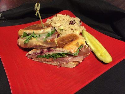 Bayona Cafe | Blackberry Jam & Ham Sandwich