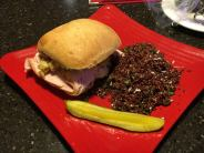 Bayona Cafe- Turkey Dinner Sandwich