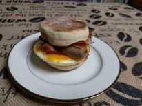 Loafin Life Bakery- Breakfast Sandwich