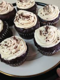 Loafin Life | Stout Beer Chocolate Cupcakes