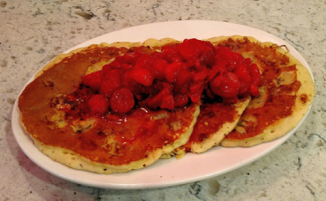 Red Arrow Diner   Carol Parker Pancakes