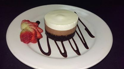 The Pint   Triple Chocolate Mousse Cake