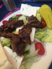 Theo's - Steak Tip Salad