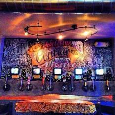 Central Ale House- Tap Wall