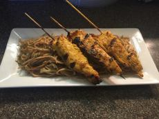 Water Works Cafe - Thai Chicken Skewers