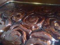 The Foundry | Homemade Maple Caramel Glazed Cinnamon Rolls