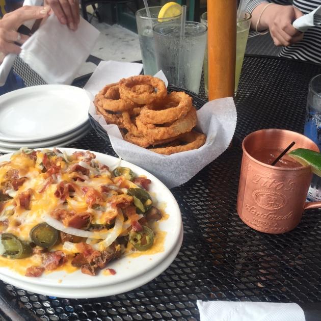 Shaskeen | Irish Nachos, Onion Rings, Texas Mule