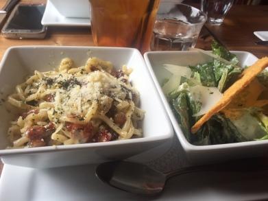 Campo Enoteca | Carbonara and Roman Salad Lunch Special