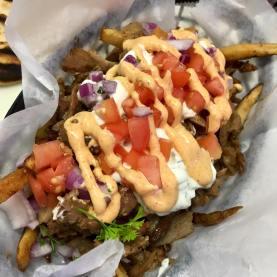 The Gyro Spot - Feta Fries