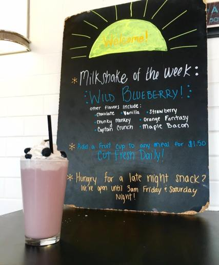 Murphy's Diner - Wild Blueberry Milkshake