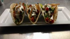The Pint | cajun chicken tacos