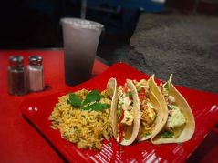Bayona Cafe | Cajun Chicken Tacos