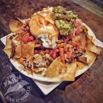 The Farm | pulled pork nachos