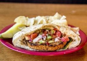 Portland Pie | veggie burger