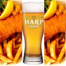 The Wild Rover | $13.99 fish and chips and Harp Fridays