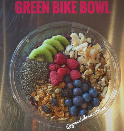 Green Bike Smoothies | Acai Bowl