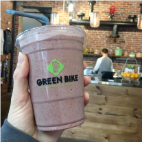 Green Bike | smoothie