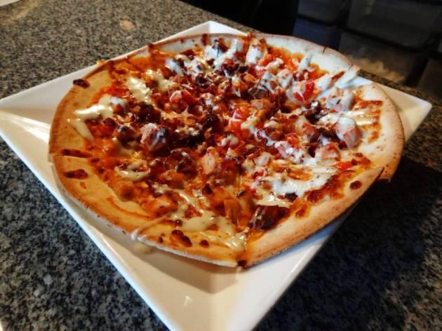 Stark Brewing Co | Gluten-free BBQ Chicken Pizza