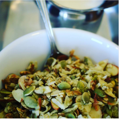A&E Coffee and Tea | Matcha granola
