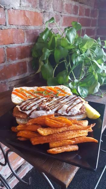 Waterworks Cafe | Sicilian Eggplant Sandwich
