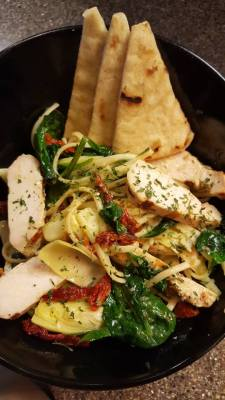 Waterworks - Mediterranean Chicken and Pasta