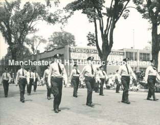Police Unit Marching-1981