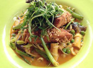 cocnut tofu