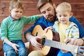 dad and guitar